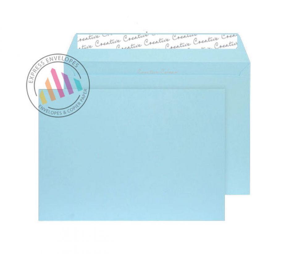 C5  - Cotton Blue Envelopes - 120gsm - Non Window - Peel and Seal
