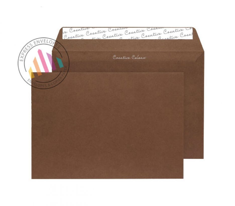 C4 - Milk Chocolate Envelopes - 120gsm - Non Window - Peel and Seal