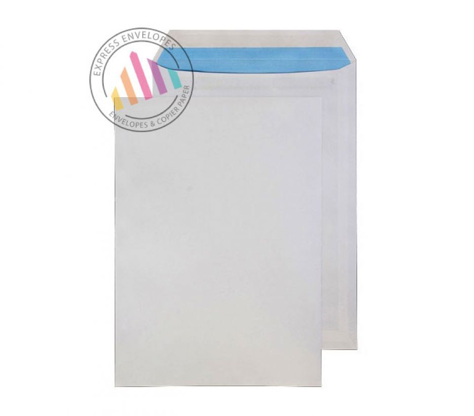 C4 - White Commercial Envelopes - 90gsm - Non Window - Self Seal