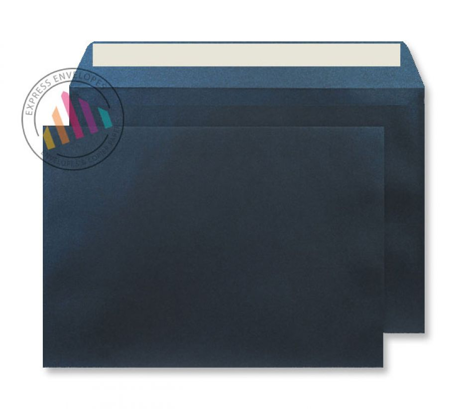 C5 - Midnight Blue Envelopes - 120gsm - Non Window - Peel and Seal