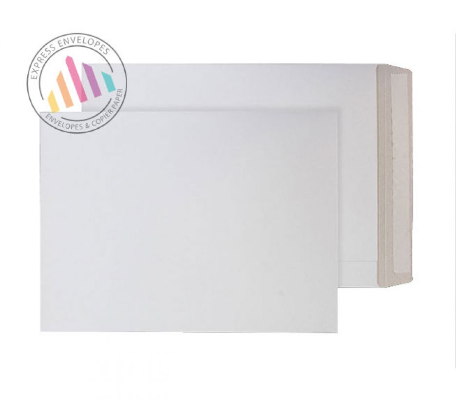 C3 - White All Board Envelopes - 350gsm - Peel and Seal