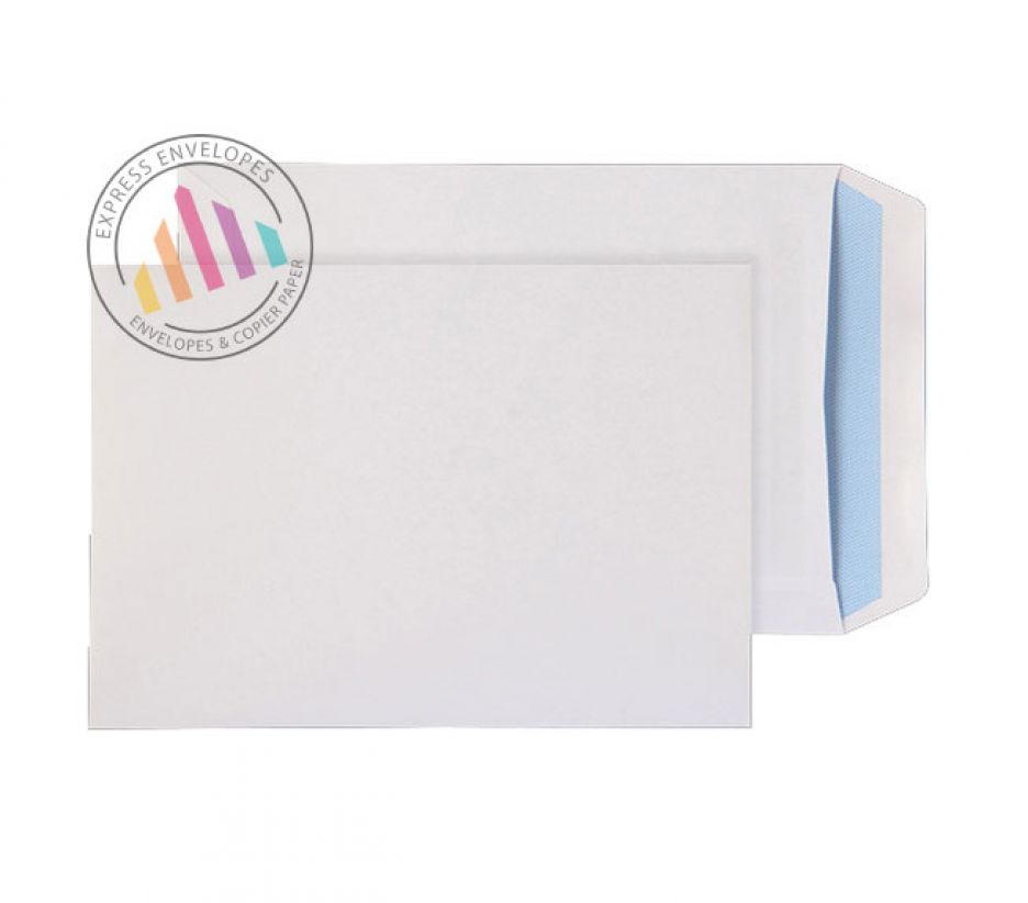 C5 - White Commercial Envelopes - 90gsm - Non Window - Self Seal