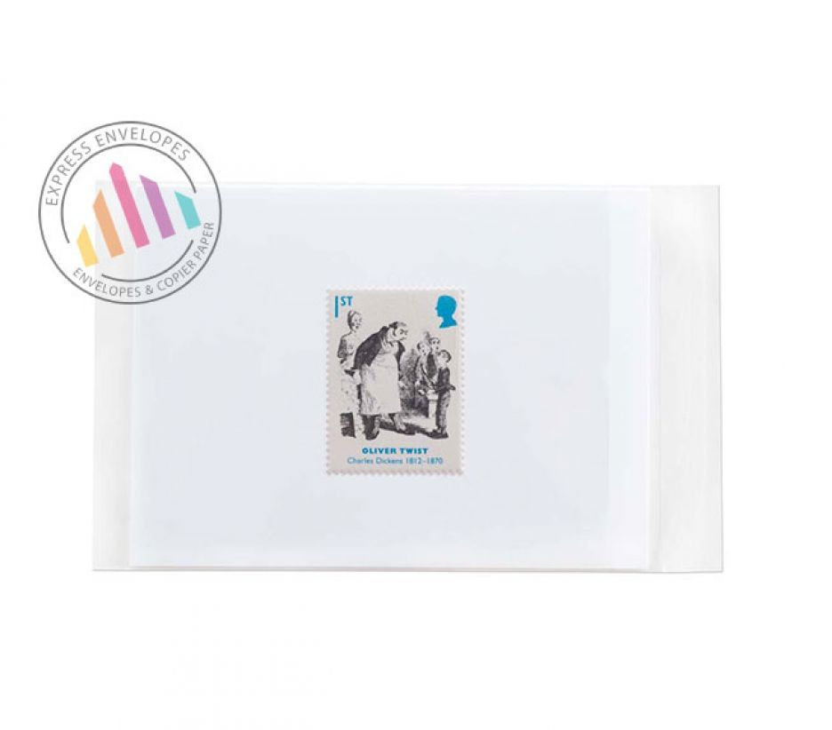 155×150mm - Clear Cello Bags - 30µm - Non Window - Reasealable