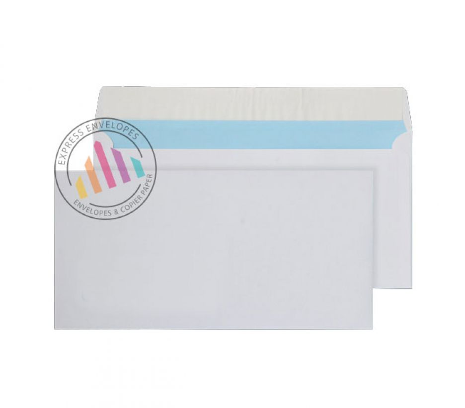 DL - White Commercial Envelopes - 110gsm - Non Window - Peel & Seal