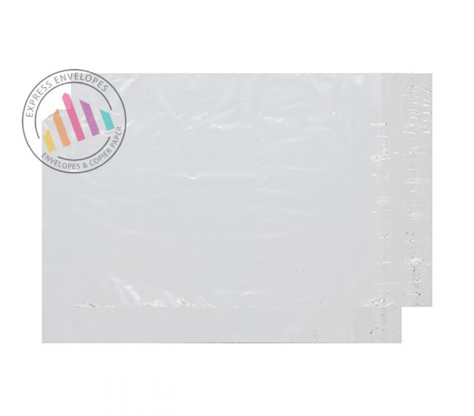 C4+ - Clear Polythene Envelopes - 38µm - Peel and Seal