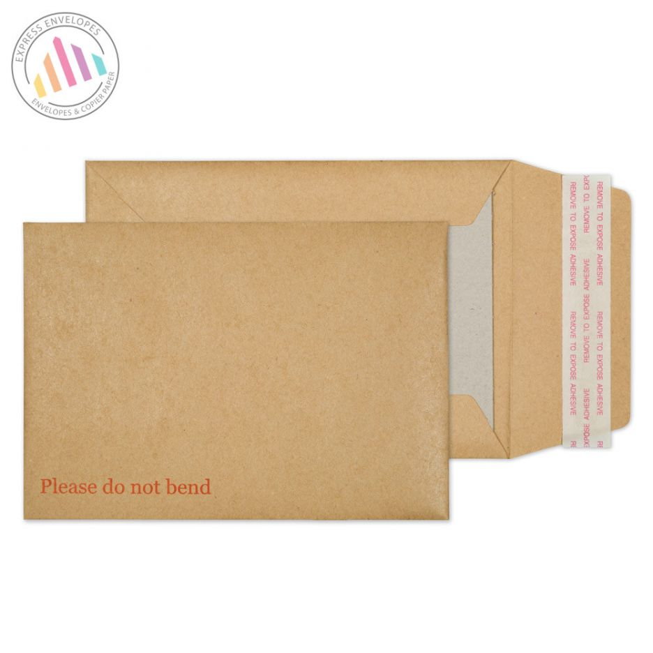 C6 - Manilla Board Back Envelopes - 120gsm - Non Window - Peel and Seal