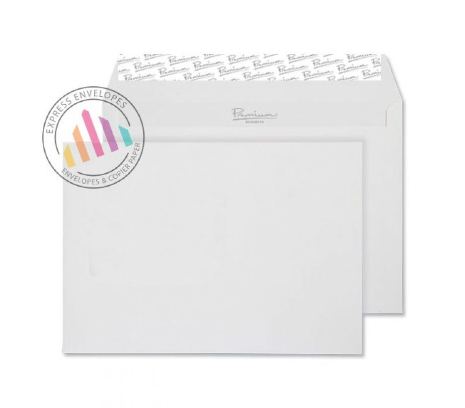 C6 - High White Wove Envelopes - 120gsm - Non Window - Peel and Seal