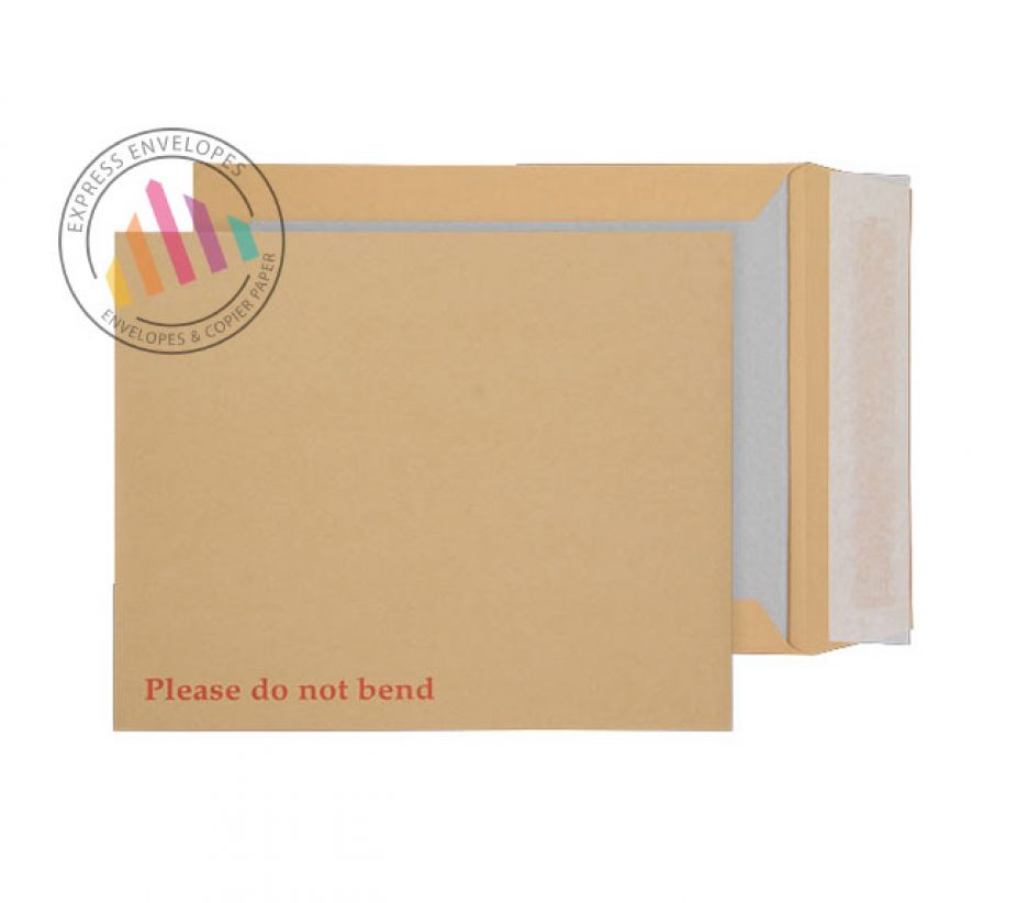 318x267mm - Manilla Board Back Envelopes - 120gsm - Non Window - Peel and Seal