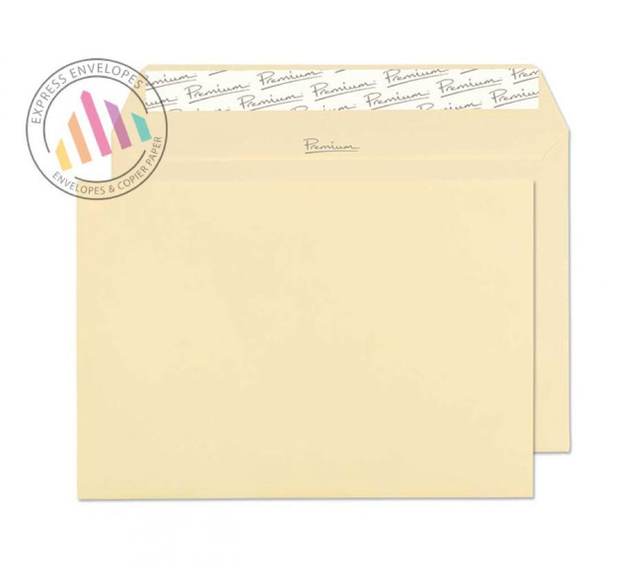 C5 - Vellum Laid Envelopes - 120gsm - Non Window - Peel and Seal