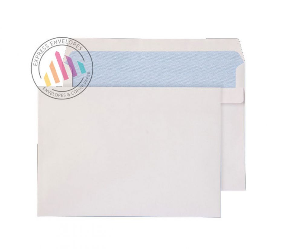 C5 - White Commercial Envelopes - 100gsm - Non Window - Self Seal