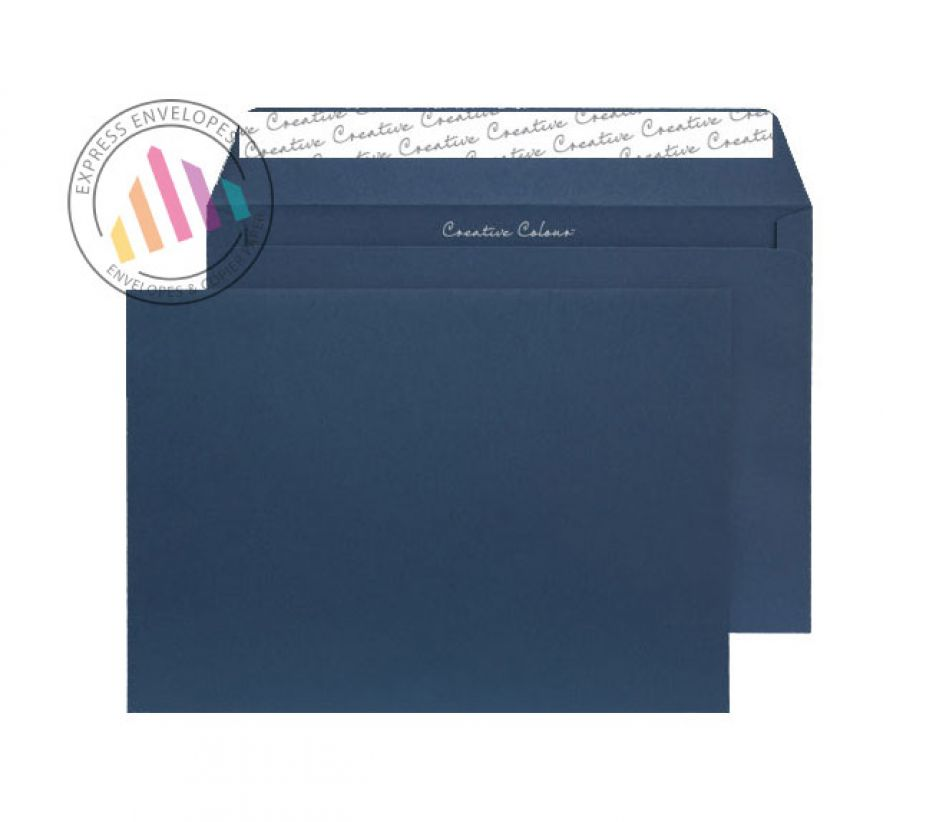 C5 - Oxford Intensive Blue Envelopes - 120gsm - Non Window - Peel & Seal