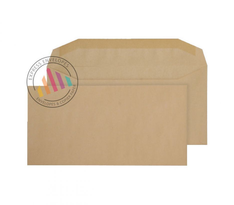 DL+ - Manilla Mailing Envelopes - 80gsm - Non Window - Gummed