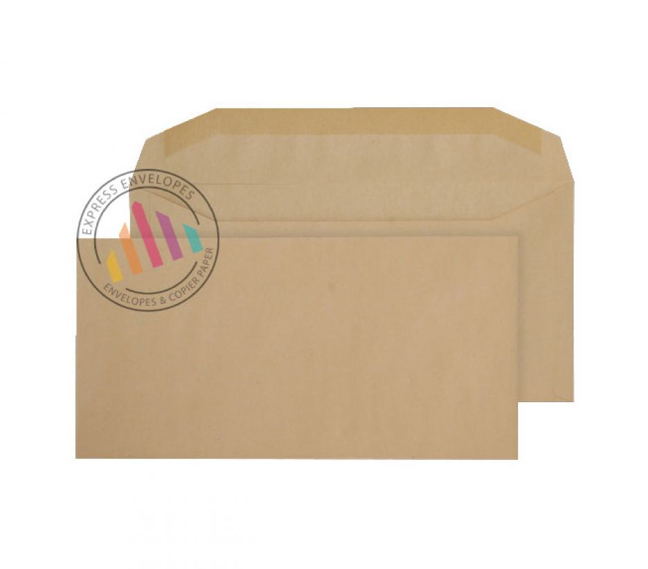 DL++ - Manilla Mailing Envelopes - 80gsm - Non Window - Gummed
