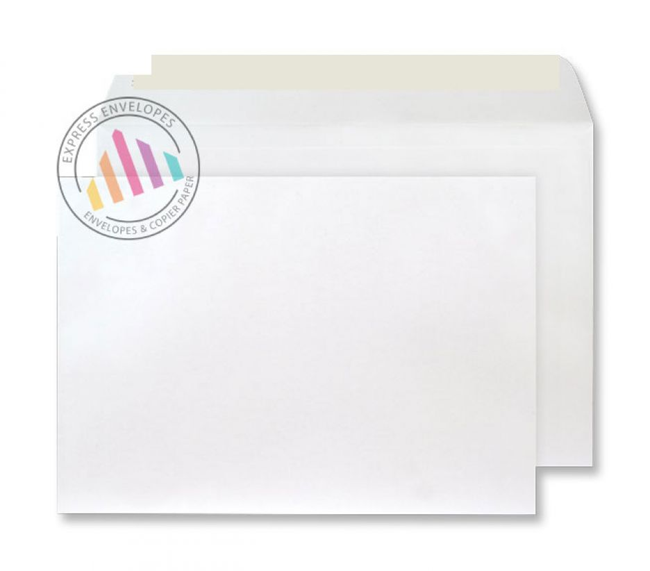 C4 - Champagne Envelopes - 120gsm - Non Window - Peel & Seal