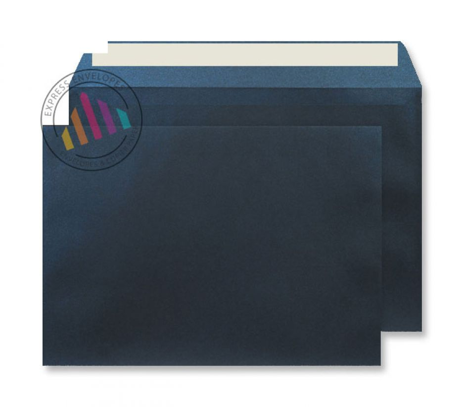 C4 - Midnight Blue Envelopes - 120gsm - Non Window - Peel & Seal