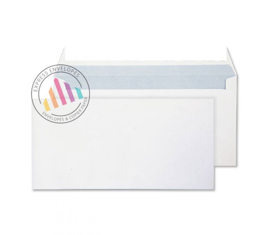 DL - Ultra White Commercial Envelopes - 120gsm - Non Window - Peel & Seal