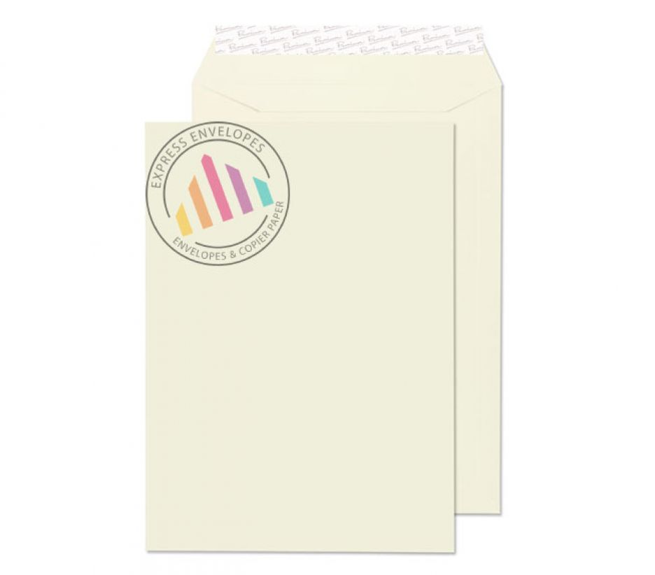 C4 - Oyster Wove Envelopes - 120gsm - Non Window - Peel & Seal