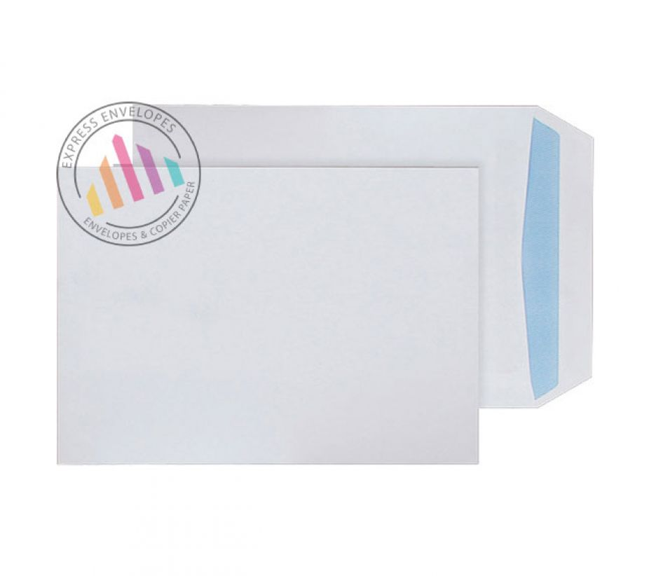 Recycled C5 - White Commercial Envelopes - 100gsm - Non Window - Self Seal