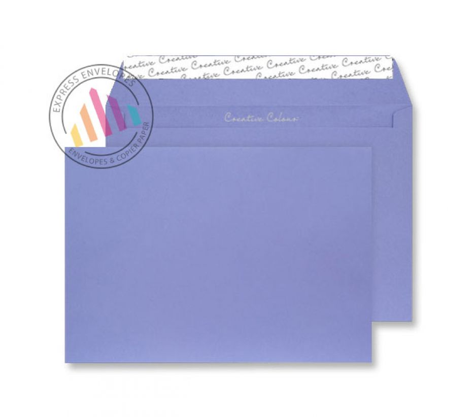 C5 - Summer Violet Envelopes - 120gsm - Non Window - Peel and Seal