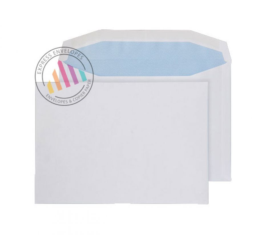 C5 - White Mailing Envelopes - 80gsm - Non Window - Gummed