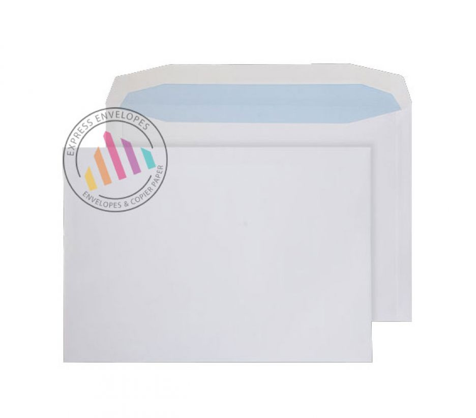 C4+ - White Mailing Envelopes - 100gsm - Non Window - Gummed