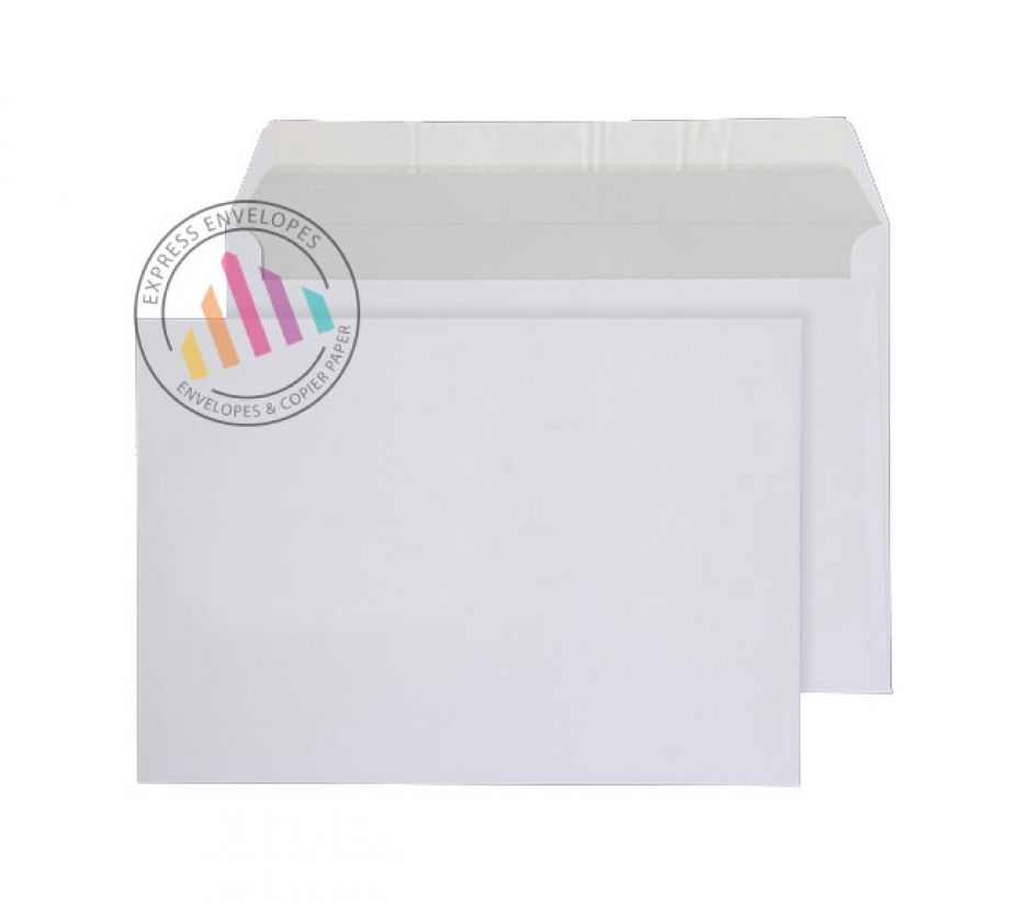 C5  - Bright White Commercial Envelopes - 120gsm - Non Window - Peel & Seal