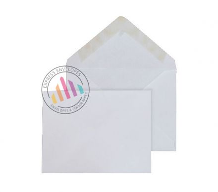 70mm x 100mm - White Invitation Envelopes - 90gsm - Non Window - Gummed