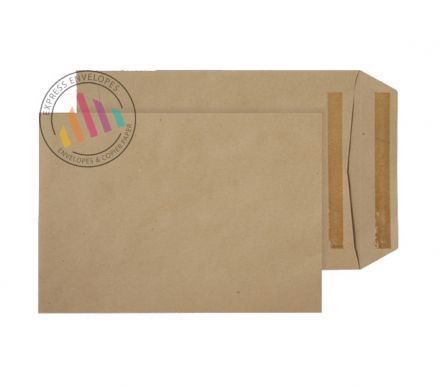 C5+  - Manilla Commercial  Envelopes - 115gsm - Non Window - Self Seal