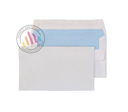 89mm x 152mm - White Commercial Envelopes - 80gsm - Non Window - Self Seal