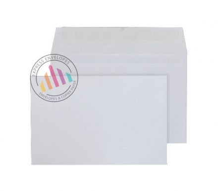 94mm x 124mm White Commercial Envelopes - 100gsm - Non Window - Peel & Seal