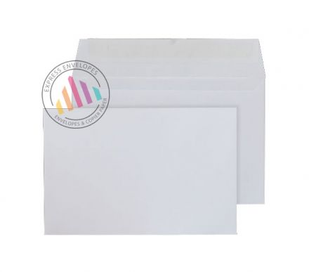 94mm x 143mm - White Invitation Envelopes - 100gsm - Non Window - Peel & Seal