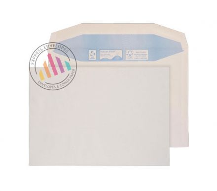 Recycled C6 - White Mailing Envelopes - 90gsm - Non Window - Gummed