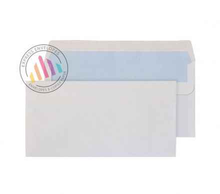 DL - White Commercial Envelopes - 100gsm - Non Window - Self Seal