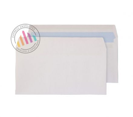 DL - White Commecial Envelopes - 100gsm - Non Window - Self Seal