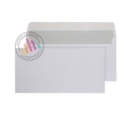 DL - White Commercial Envelopes - 120gsm - Non Window - Peel & Seal