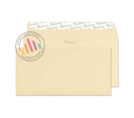 DL - Vellum Laid Envelopes - 120gsm - Non Window - Peel & Seal