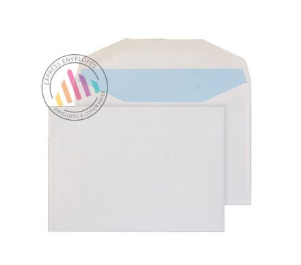 B6 - White Commercial Envelopes - 90gsm - Non Window - Gummed