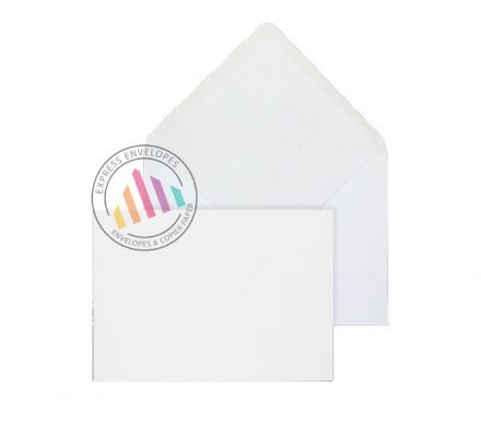 133 x 185mm - Ultra White Invitation Envelopes - 120gsm - Non Window - Gummed