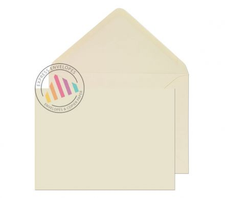 133 x 197mm - Cream Invitation Envelopes - 100gsm - Non Window - Gummed