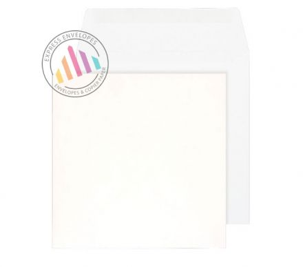 140 x 140mm - White Commercial Envelopes - 100gsm - Non Window - Gummed