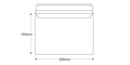 Undersized C5 - White Commercial Envelopes - 100gsm - Non Window - Peel & Seal - image 2