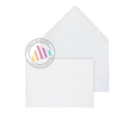 159x235mm - White Invitation Envelopes - 100gsm - Non Window - Gummed