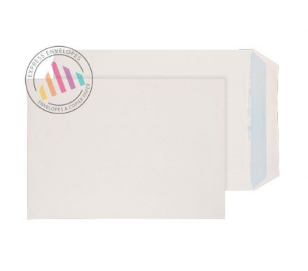 Recycled C5 - White Envelopes - 90gsm -  Non Window - Self Seal