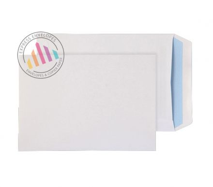 C5 - White Commercial Envelopes - 110gsm -  Non Window - Self Seal