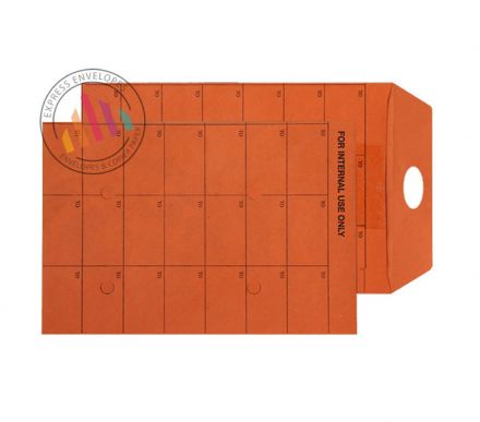 C5 - Orange Manilla Internal Mail Envelopes - 120gsm - Non Window - Resealable