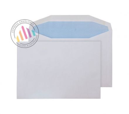 C5- White Matt Coated Mailing Envelopes - 115gsm - Non Window - Gummed