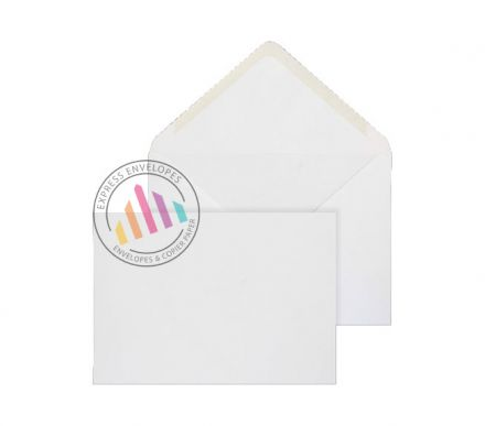 Recycled C5 - White Banker Envelopes - 100gsm - Window - Gummed