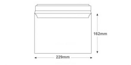 C5 - Smooth Diamond White Envelopes - 120gsm - Non Window - Peel and Seal - image 2