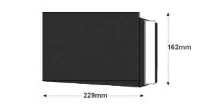 C5 - Jet Black Gusset Envelopes - 140gsm - Non Window - Peel & Seal - image 2