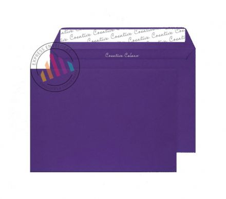 C5 - Blackcurrant Envelopes - 120gsm - Non Window - Peel & Seal